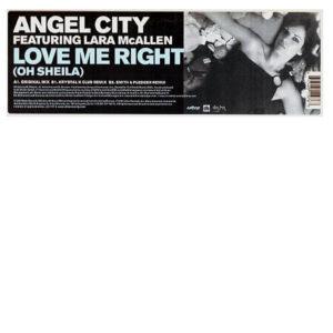 ANGEL CITY feat LARA MCALLEN – Love Me Right