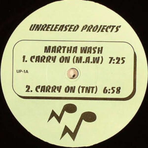 MARTHA WASH / STERLING VOID / CHIC - Carry On/Alright/Mystique Unreleased Project