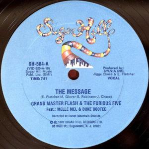 GRANDMASTER FLASH & THE FURIOS FIVE – The Message