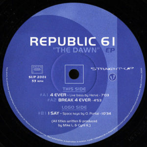 REPUBLIC 61 - The Dawn EP