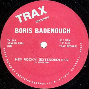 BORIS BADENOUGH – Hey Rocky!