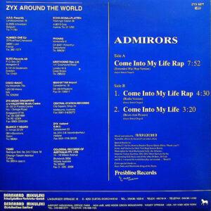 ADMIRORS – Come Into My Life Rap