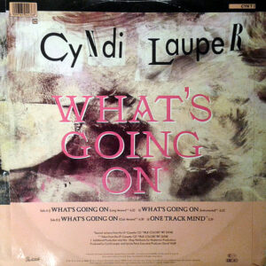 CYNDI LAUPER – What's Going On