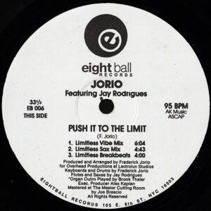 JORIO feat JOY RODRIGUES - Push It To The Limit/Romance