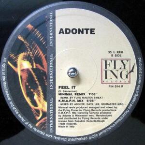 ADONTE – Feel It The Remixes