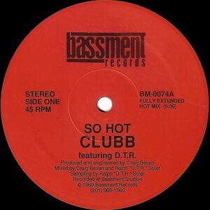 CLUBB feat D.T.R. - So Hot