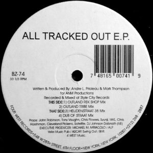 A.N.M. PRODUCTION - All Tracked Out EP