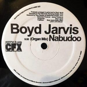 BOYD JARVIS - Nabudoo