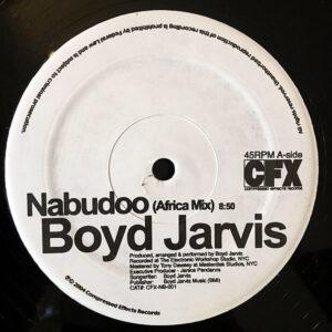 BOYD JARVIS – Nabudoo