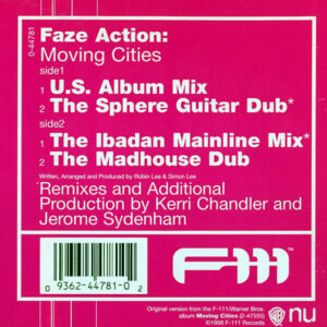 FAZE ACTION – Moving Cities