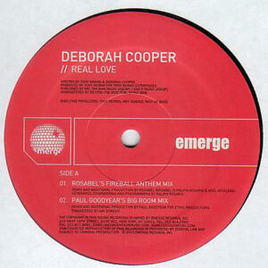 DEBORAH COOPER – Real Love