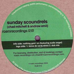 SUNDAY SCOUNDRELS – Nothing Goin' On