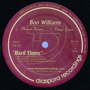BOO WILLIAMS - Hard Times