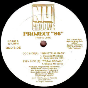 PROJECT 86 - Industrial Bass/Total Recall
