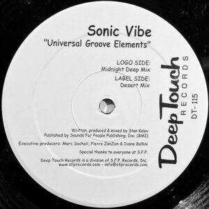 SONIC VIBE - Universal Groove Elements