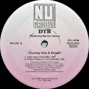 DTR feat MARLYN SAREO - Journey Into A Dream
