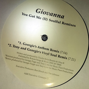 GIOVANNA – You Got Me Soulful Remixes