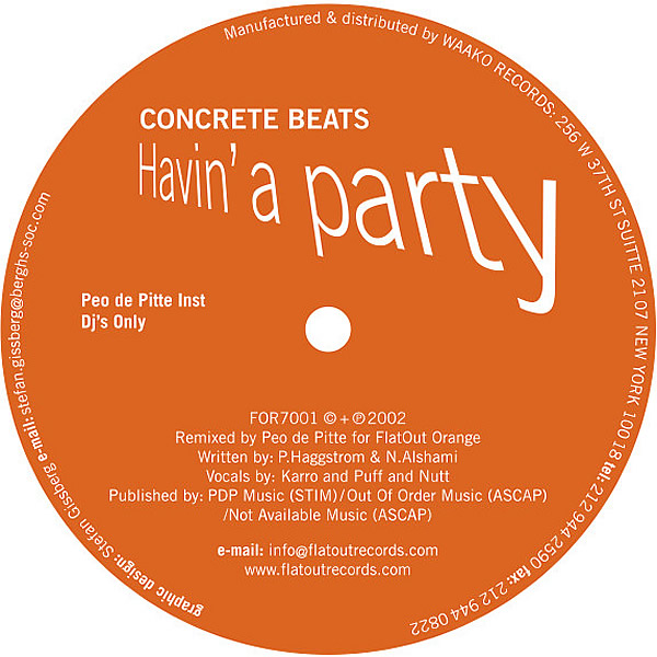 CONCRETE BEATS - Havin' A Party