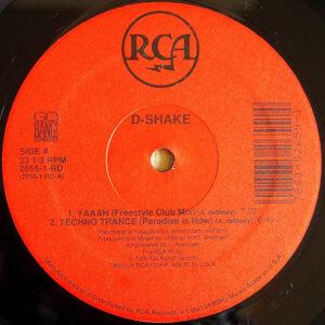 D-SHAKE – Yaaah/Techno Trance