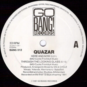QUAZAR - The Spring EP