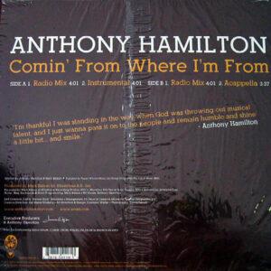 ANTHONY HAMILTON – Comin' From Where I'm From