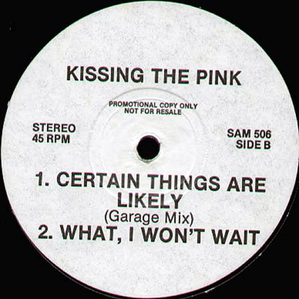 KISSING THE PINK - Stand Up