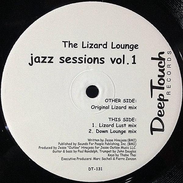 THE LIZARD LOUNGE - Jazz Sessions Vol 1