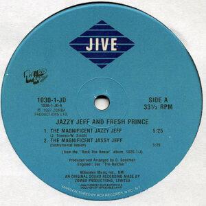 DJ JAZZY JEFF & FRESH PRINCE – The Magnificent Jazzy Jeff