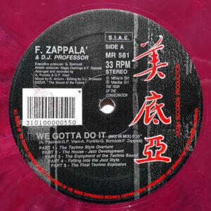 FRANCESCO ZAPPALA' & DJ PROFESSOR - We Gotta Do It