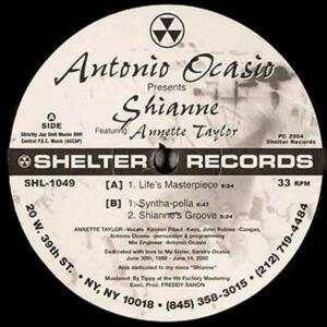ANTONIO OCASIO feat ANNETTE TAYLOR – Shianne