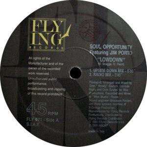SOUL OPPORTUNITY feat JIM PORTO - Lowdown