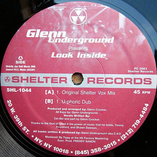 GLENN UNDERGROUND presents - Look Inside