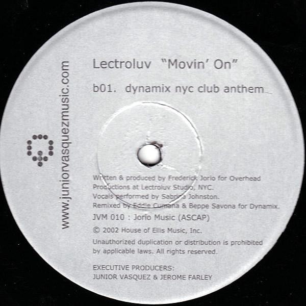 LECTROLUV feat SABRINA JOHNSTON - Movin On