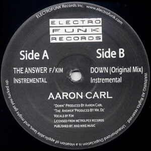 AARON CARL – Down The Answer