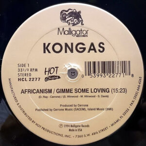 KONGAS / DON RAY - Africanism/Gimme Some Loving/Garden Of Love