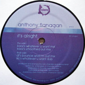 ANTHONY FLANAGAN - It's Alright