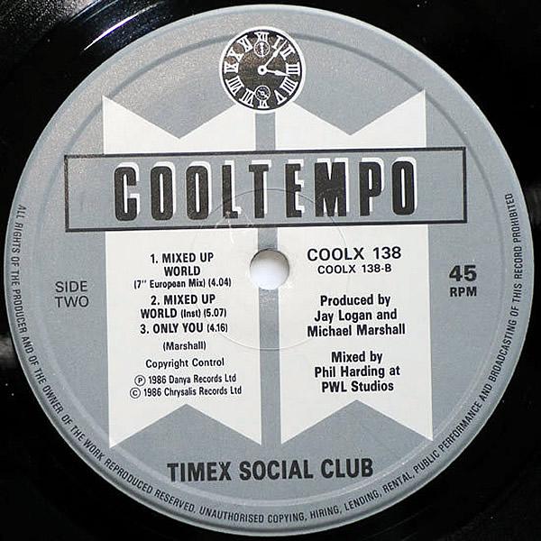 TIMEX SOCIAL CLUB - Mixed Up World