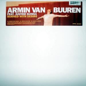ARMIN VAN BUUREN feat JUSTINE SUISSA – Burned With Desire