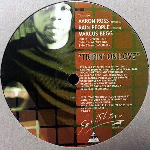 AARON ROSS presents RAIN PEOPLE feat MARCUS BEGG – Tripin' On Love