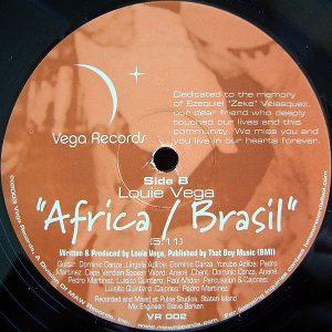 LOUIE VEGA – Nico's Song/Africa/Brasil