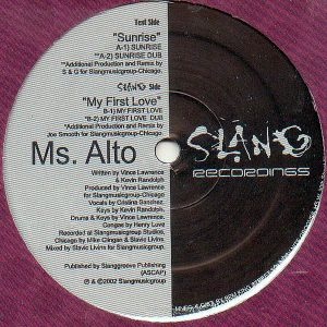 MS ALTO - Sunrise/My First Love