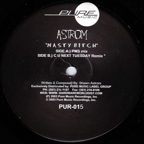 SHAWN ASTROM - Nasty Bitch