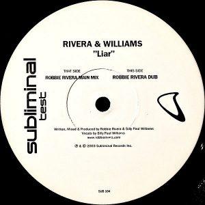 RIVERA & WILLIAMS - Liar
