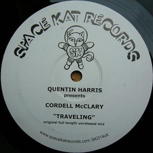 QUENTIN HARRIS presents CORDELL McCLRAY - Traveling