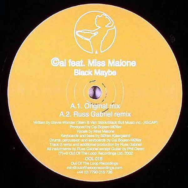 CAI feat MISS MALONE - Black Maybe