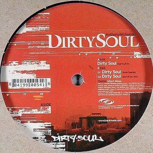 ANTHONY NICHOLSON - Dirty Soul